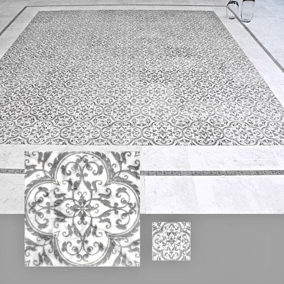 This Piece Of Decorative Stone Featuring A Hand Etched Fleur De Lis Design Is Made Of Carrara Italian M Stone Decor Craftsman Mosaic Tile Stone Tile Backsplash