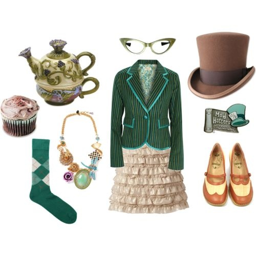 Harlee's party! Maybe I'll be the mad hatter