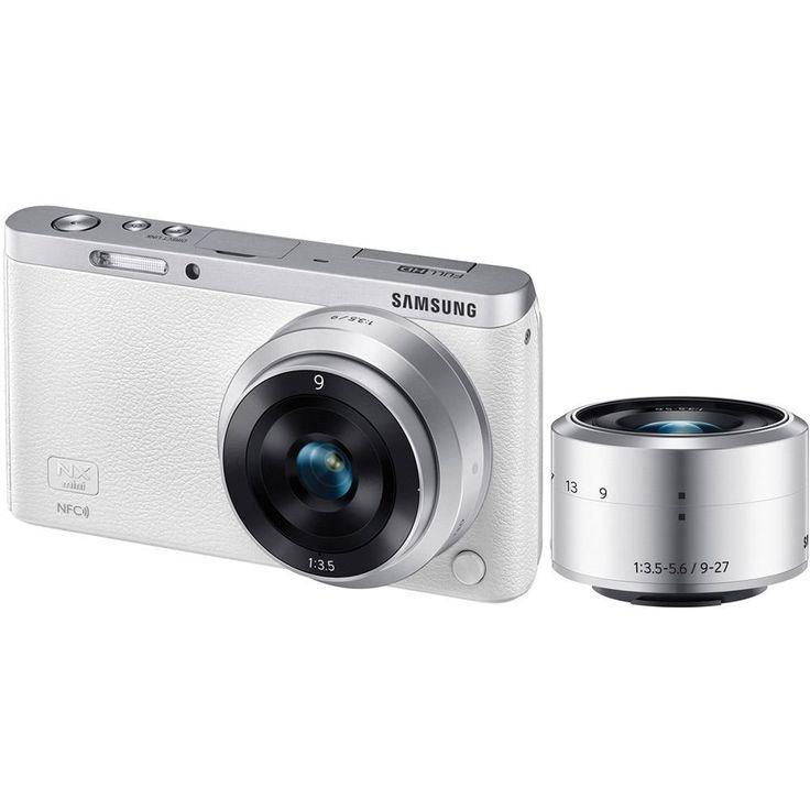 Samsung NX Mini Mirrorless Digital Camera with 9mm and 9-27mm