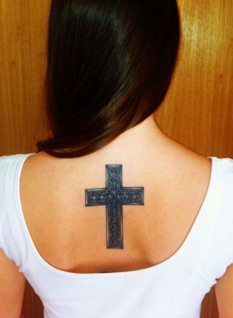 15 Hot Cross Tattoos for Women and Girls (9)