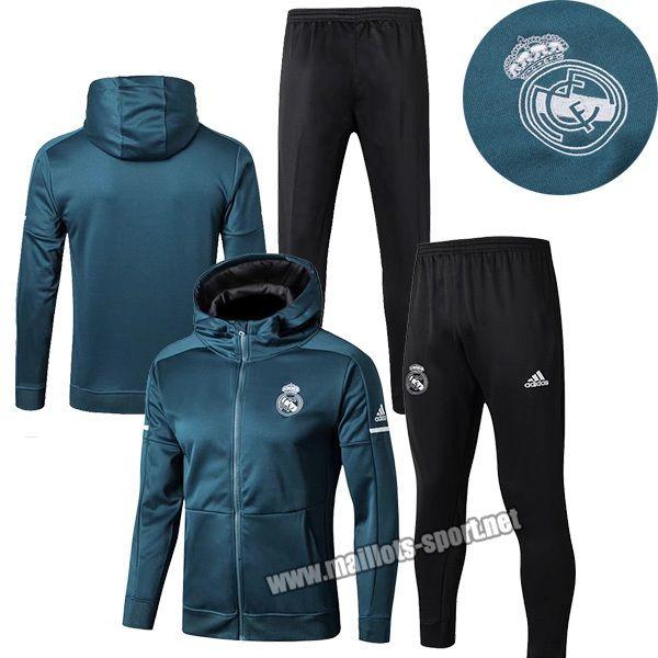 Boutique Du Nouveaux Veste Survetement De Foot Real Madrid