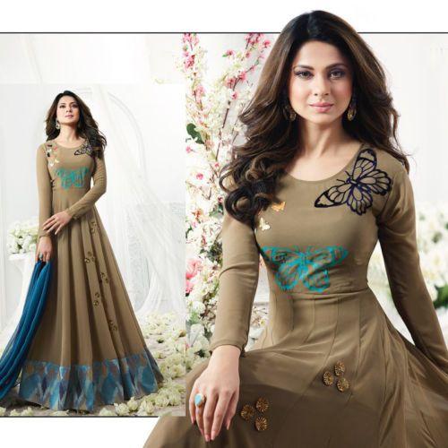 Latest Indian Pakistani Shalwar Kameez Dresses Bollywood Anarkali Gown Long Suit