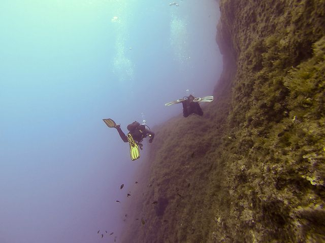 Buceo en Malta (1/4) :Blue Hole e Inland Sea