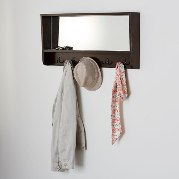Pullman Mirrored  Wall Organiser