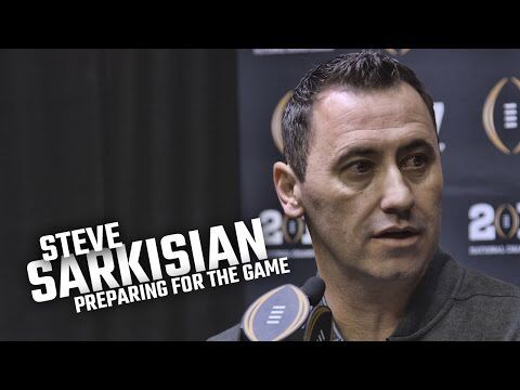 Steve Sarkisian talks about how he prepared Alabama for the National Championship