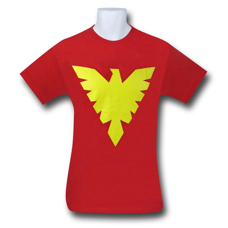 Dark Phoenix Symbol Red T-Shirt