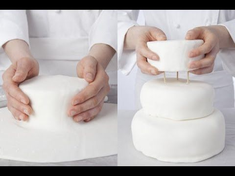 Technique de cuisine : préparer un gâteau à étages - YouTube