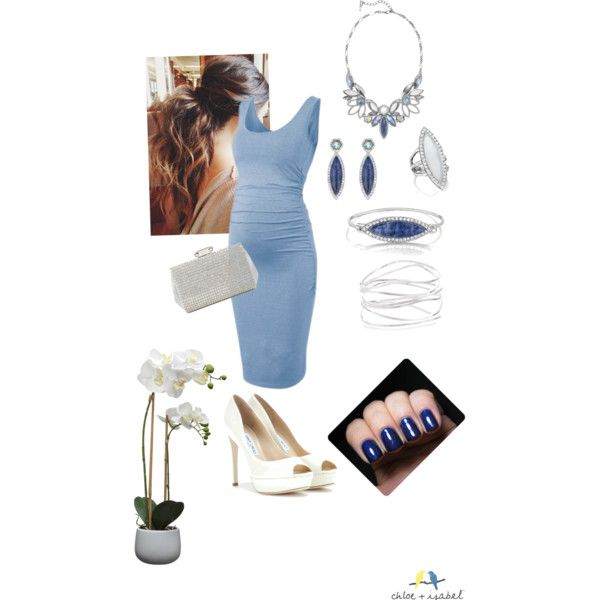 Maternity wedding guest by miss-aileeny on Polyvore featuring Jimmy Choo and House by John Lewis