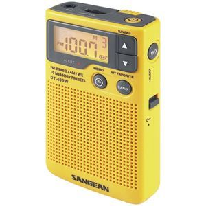 Lovely Picture of Sangean Digital Am And Fm Pocket Radio With Weather Alert everydayshoppingsuperstore