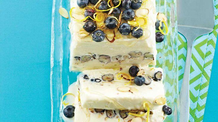 Gâteau au yogourt grec glacé