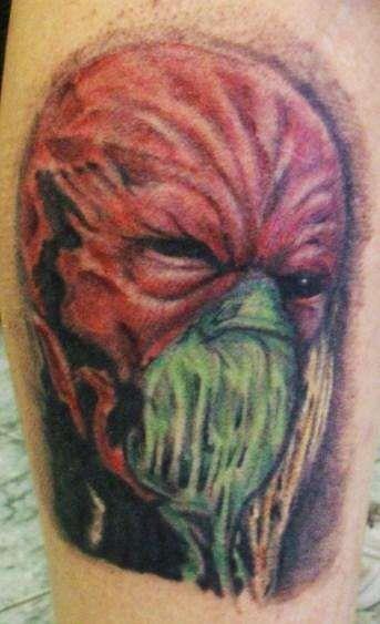 Dr. Satan tattoo
