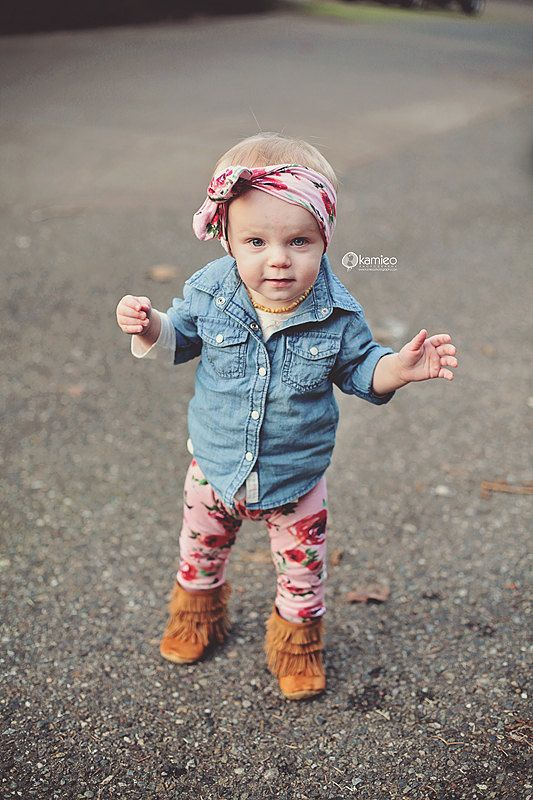 Handmade Red Roses on Dusty Pink Baby Leggings by SweetLucyJack