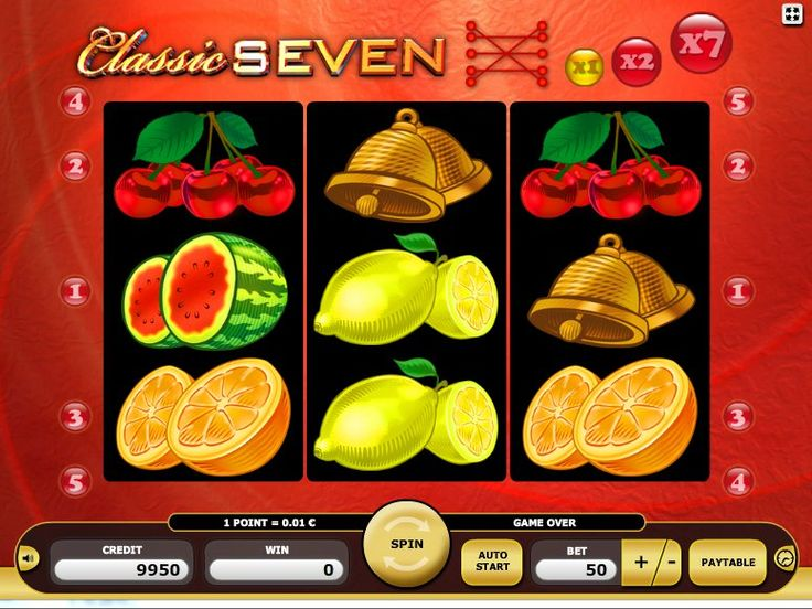 Ausprobieren kostenlos online Automaten Spiel Classic Seven - http://freeslots77.com/de/kostenloser-online-spielautomat-classic-seven/