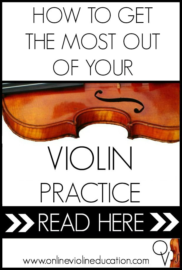 5 steps for getting the most out of your violin practice