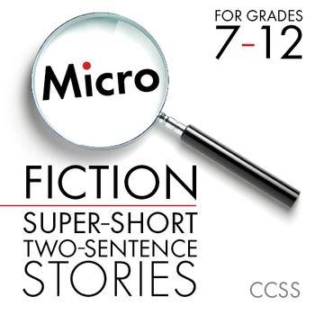 Micro Fiction, Fun Creative Writing for Teens, Narrative W