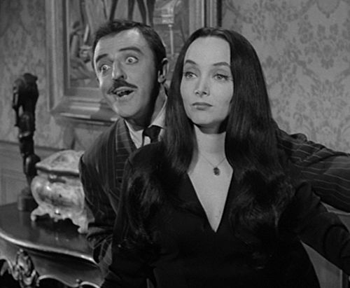 the addams family gomez and morticia meet