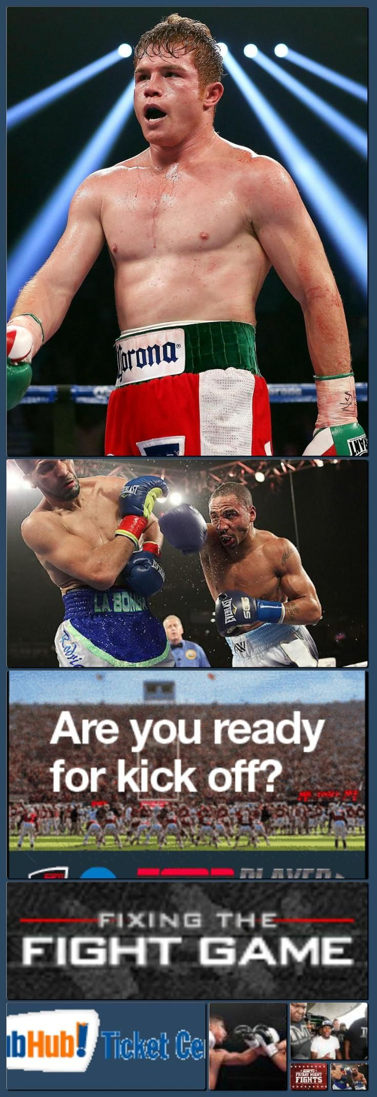 Boxing News, Rankings, Results, and History - Championship Boxing - ESPN [Collage made with one click using http://pagecollage.com] #pagecollage