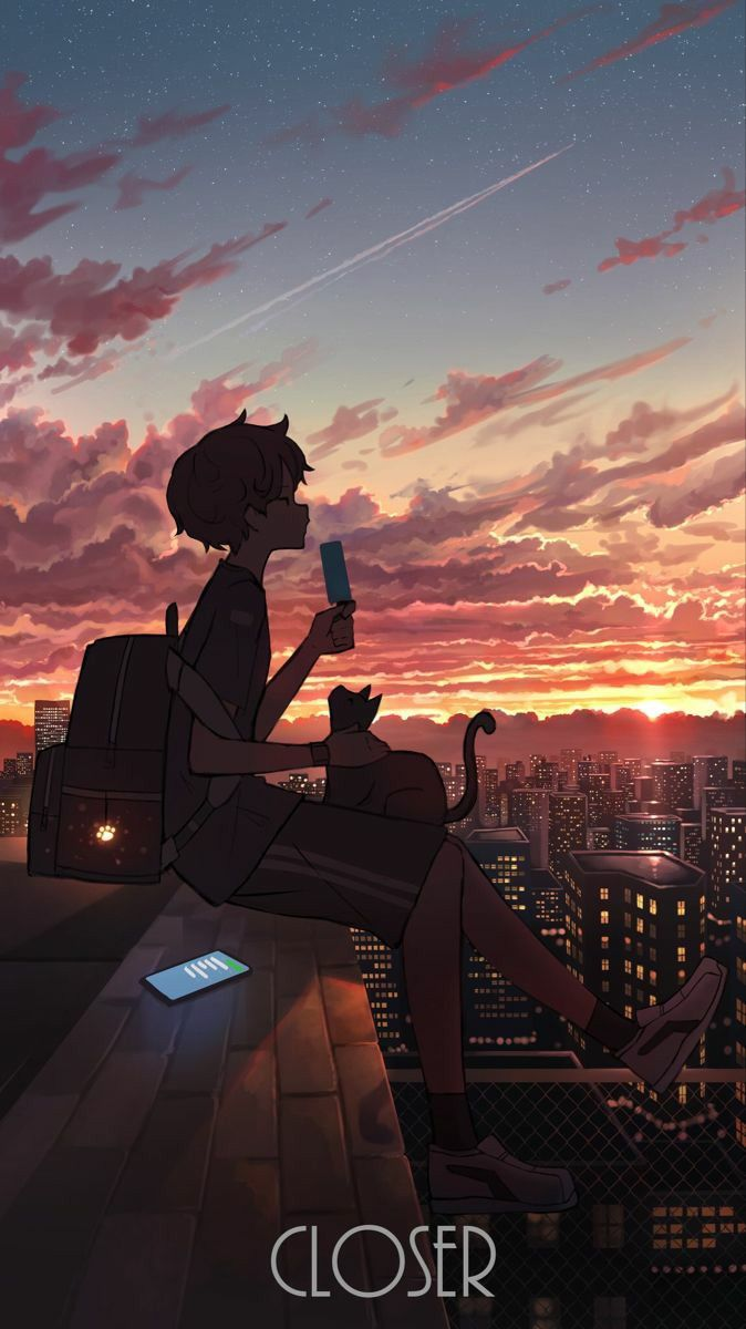 Lonely Guy Wallpaper Anime Scenery Anime Scenery Wallpaper Anime Backgrounds Wallpapers