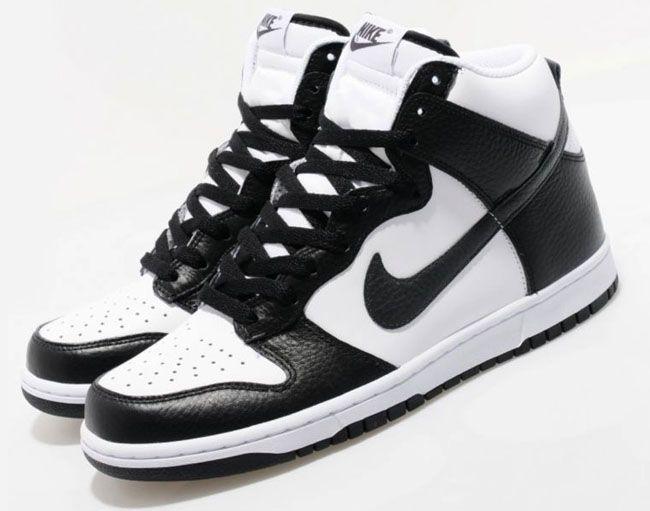 black white nike dunks