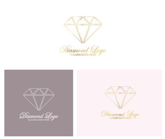 Logo/Premade Logo/Diamond Logo/ Elegant Logo/Simple Logo/Typography Logo/Brand Kit/Business Identity