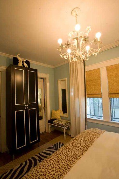 92 best zebra rooms images on pinterest zebras animal for Blue zebra print bedroom ideas