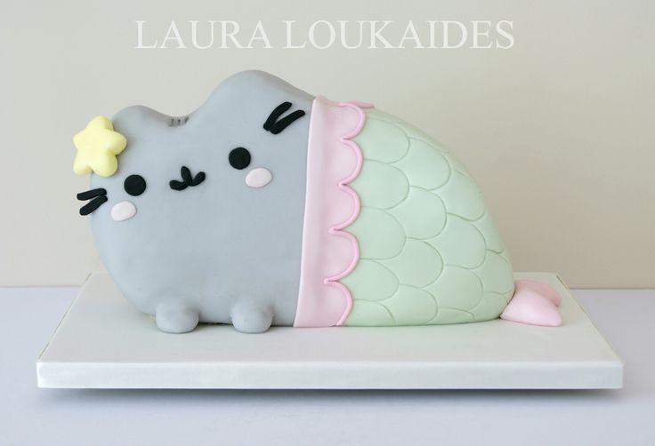 How To Make A Pusheen Cat Cake
