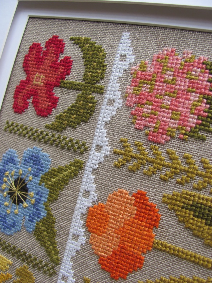 Best images about cross stitch floral on pinterest