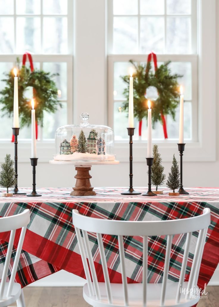 Inspired By Charm With Michael Wurm Jr Inspiredbycharm On Pinterest Christmas Centerpieces Christmas Table Centerpieces Christmas Table Decorations