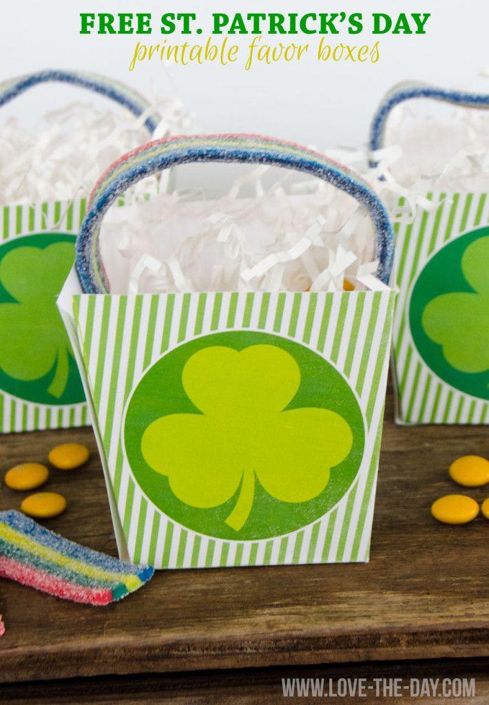 25 Free St. Patrick's Day Printables