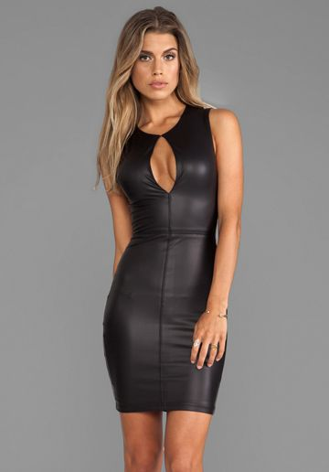 NOOKIE Easy Ryder Keyhole Dress in Black at Revolve Clothing - Free Shipping!