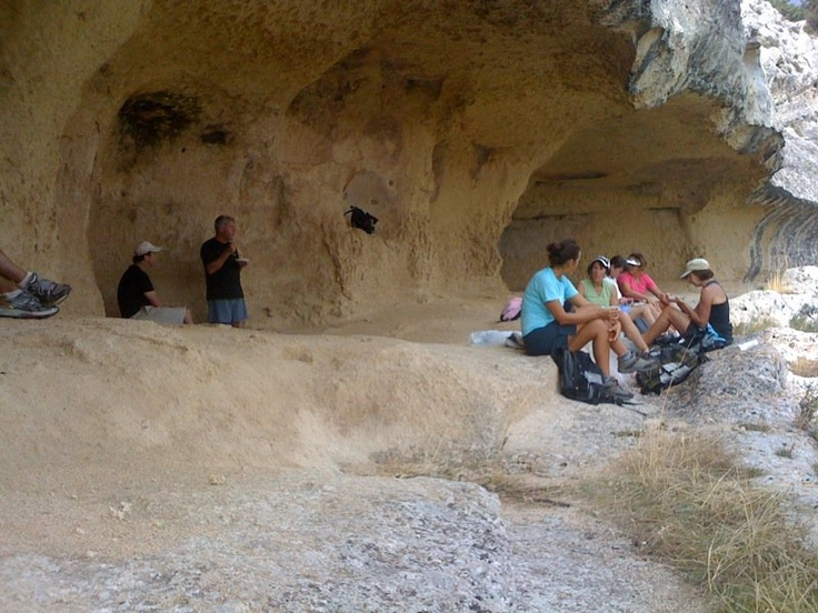 Matera - Parco Murgia - lunch stop in the caves...