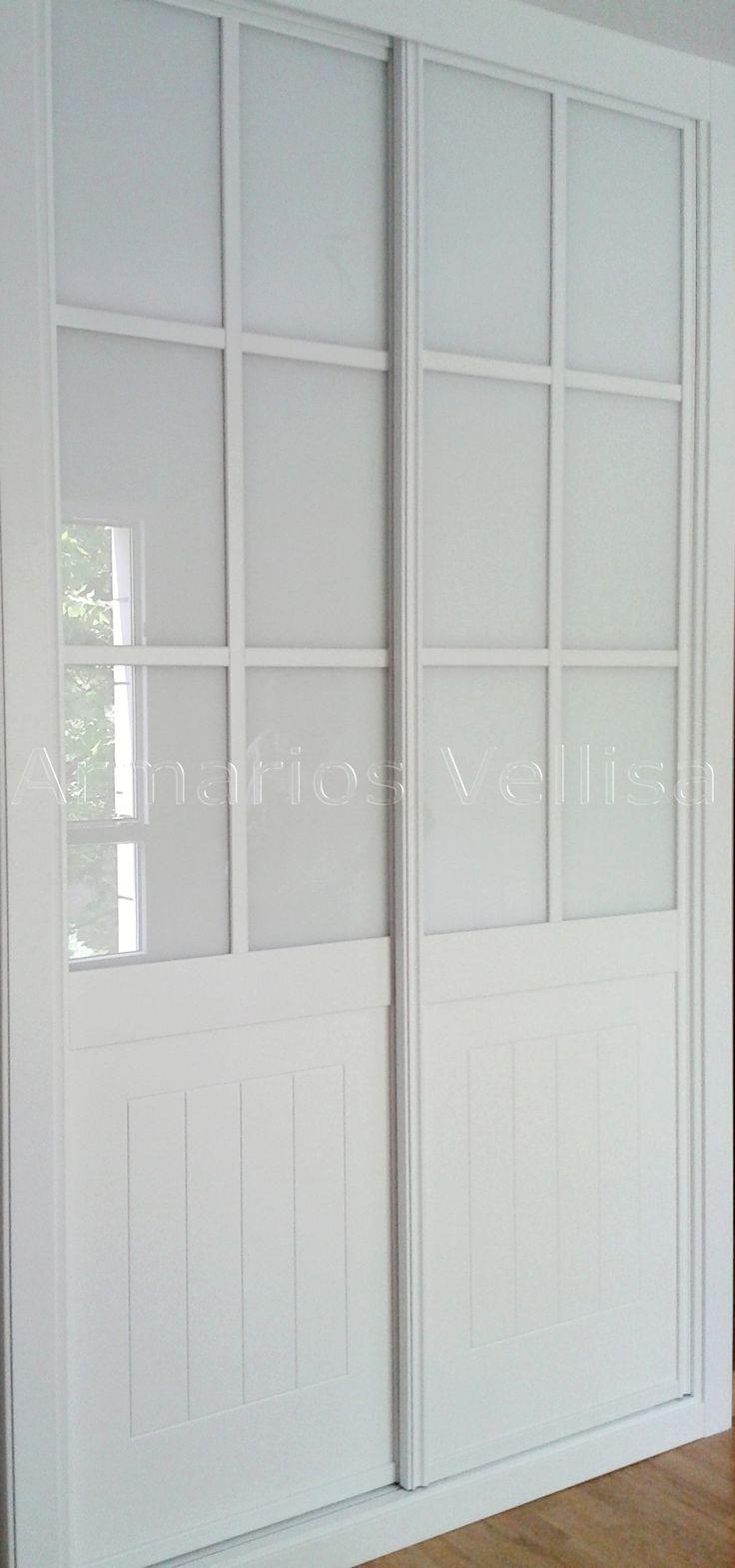 M s de 25 ideas incre bles sobre armario blanco en - Guias puertas correderas armarios empotrados ...