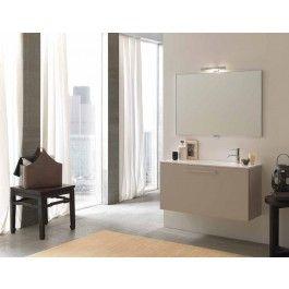 Mobile bagno moderno base lavabo profondità ridotta P 35 L 105 cm ...
