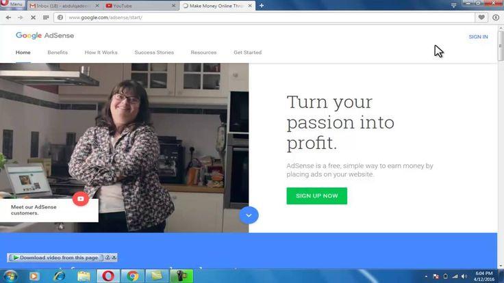 how to make money on google adsense