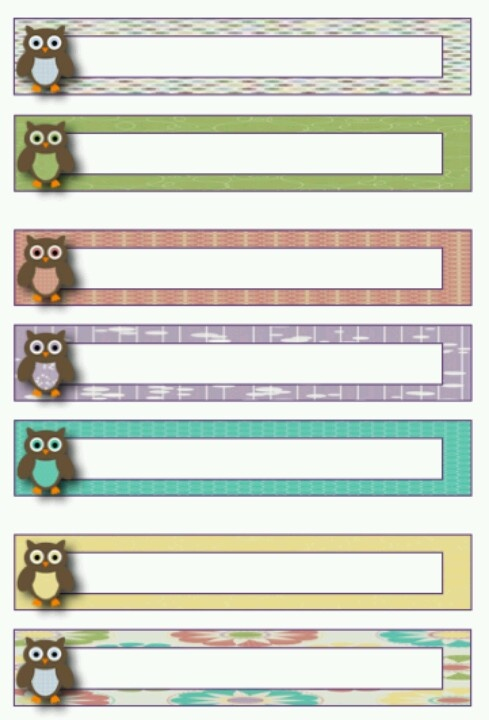 Best Pp Sections Images On   Printable Labels Free