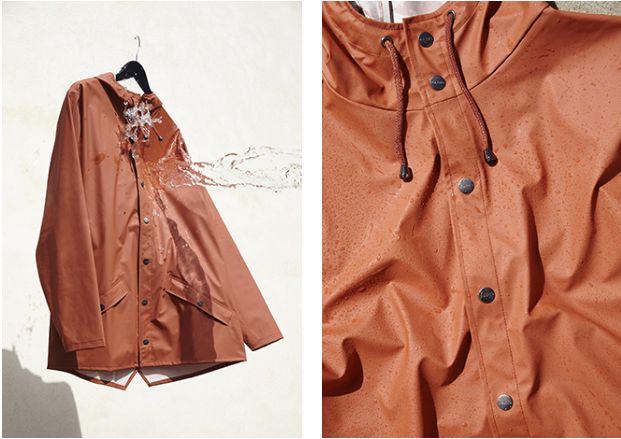 ASOS promo of waterproof jackets 1/3