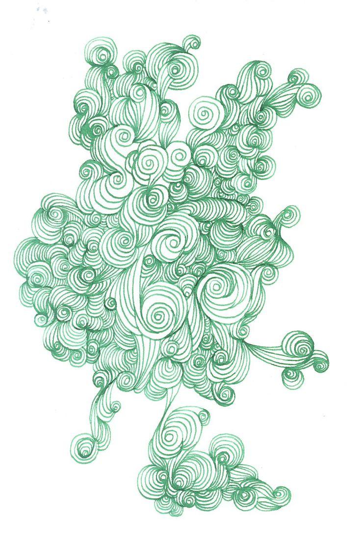 Clockka Wakka Glassa  Abstract Art