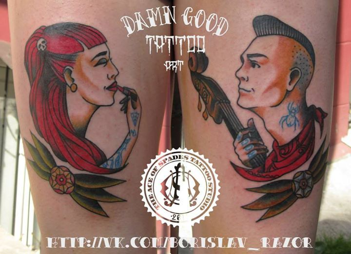 Redberry Tattoo Studio Wrocław #borislav_razor #oldicontattoo #traditionaltattoo #neotradtattoo #damngoodtattoo #tattoo #inked #ink #wroclaw #warszawa #tatuaz #gdansk #redberry #katowice #berlin #poland #krakow #kraków #boryslav #dementiev #razor #rose #roza #cat #kot #ikona #portrait #vintage #music #punk