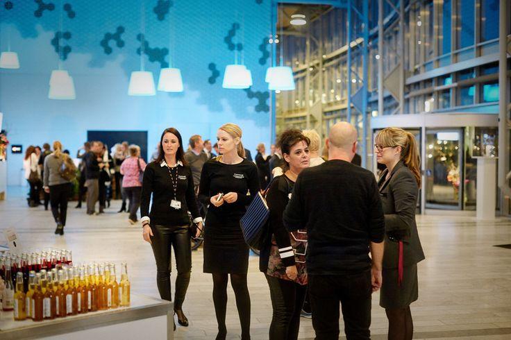 I foyeren på Comwell Conference Center Copenhagen er der masser af plads til at byde velkommen