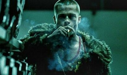 Brad Pitt as Tyler Durden. #Fight Club