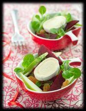 Duo de salade fraîcheur et en cas de Caprice - une recette Salade - Cuisine