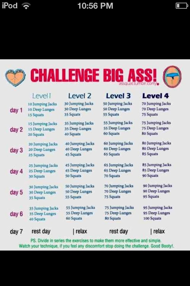 HOW TO GET A TONED BOOTYJUST FOLLOW THIS CHALLENGE AND YOU WILL HAVE ONE IN NO TIME!