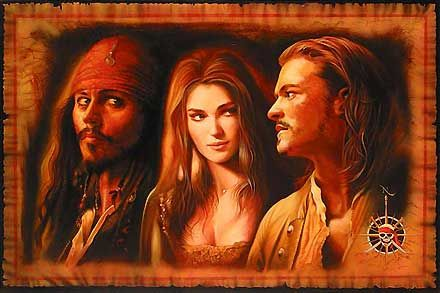 Pirates of the Caribbean - What is a Pirate - John Rowe - World-Wide-Art.com - $495.00 #Disney #JohnRowe