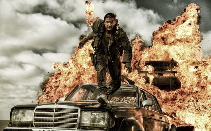 Mad Max: Fury Road (2015) – 'Tom Hardy Fireball' – Wallpaper 003.  Click Picture to Download ( 7 sizes to choose from)
