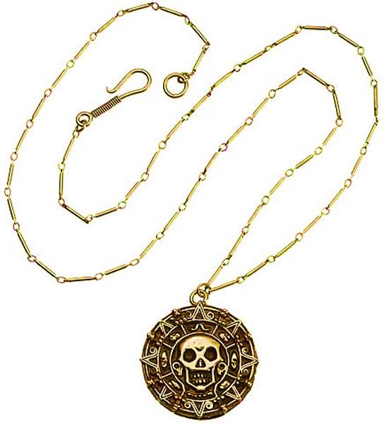 elizabeth swann pirate medallion haha! I actually have one!