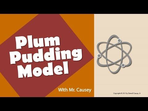 The Plum Pudding Atomic Model, J.J. Thomson and the Electron - Chemistry - YouTube