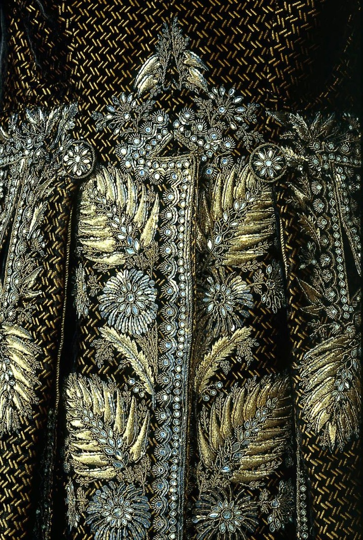 Detail, Man's Court Suit, French, 1785-1792.