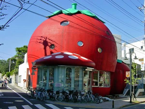 Strawberry house