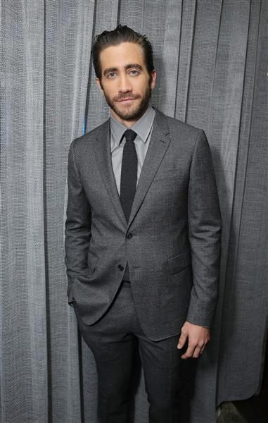 "Jake Gyllenhaal poses at the ""Prisoners"" premiere during the Toronto Film Festival on Sept. 6, 2013."