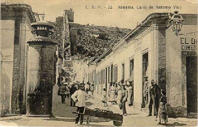 Calle Antonio Vico (Almería, 1890)